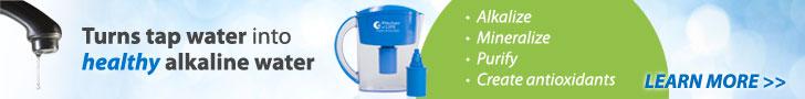 alkaline water pitcher