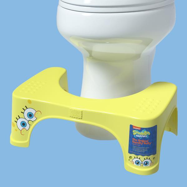 Sponge Bob Toilet Stool