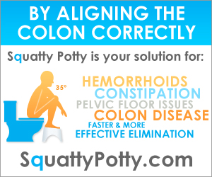 Healthy Colon with the Squatty Potty