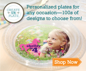 Create UR Plate, Design your own plates with Plate-Ables™