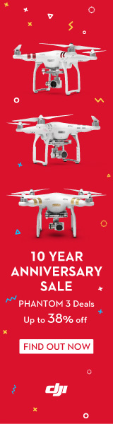 DJI Tenth Anniversary Promotion
