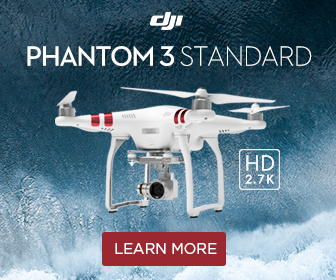 Phantom 3 Standard - 2.7K HD Camera - Live View as You Fly