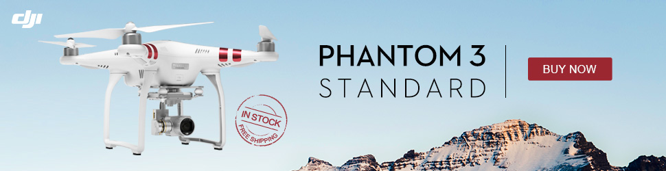 PHANTOM 3 STANDARD - IN STOCK AND FREESHIPPING