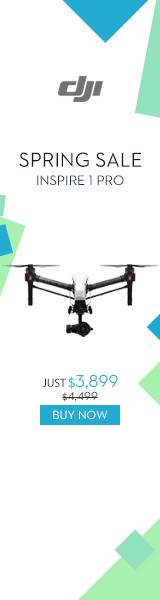 Save $600 on DJI Inspire 1 Pro - DJI Spring Sale 2016