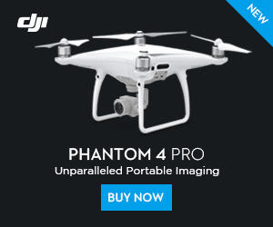 DJI Phantom 4 Pro-Unparalleled Portable Imaging.