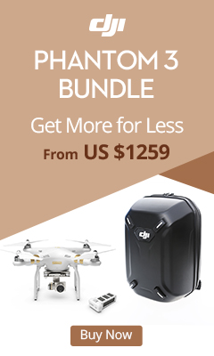 Phantom 3 Bundle - From US $1259