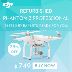 DJI Refurbished Phantom 3 Professional-Tested By Experts. Ready For You.