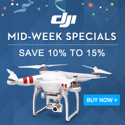 DJI Mid-Week Specials - Save 10% to 15%