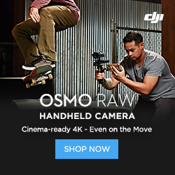 DJI Osmo RAW Handheld Camera - Cinema-ready 4K - Even on the Move
