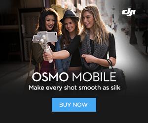 DJI Osmo Mobile Silver - Make every shot smooth as silk.