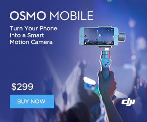 DJI Osmo Mobile Silver - Turn Your Phone into a Smart Motion Camera.