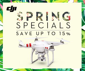 DJI Spring Promotion 2015 - Save up to 15%