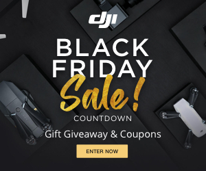 DJI Black Friday - Countdown