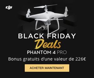 DJI™ Black Friday Phantom 226€ en cadeaux bonus