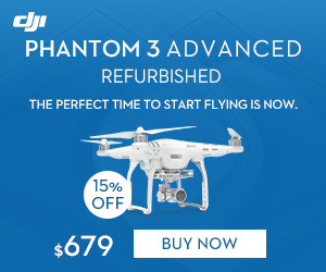 DJI Refurbished Phantom 3 Advanced-The perfect time to start flying is now.