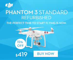 DJI Refurbished Phantom 3 Standard-The perfect time to start flying is now.