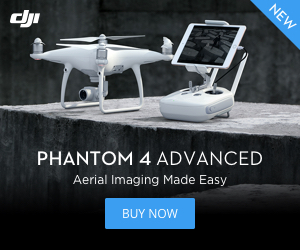 DJI Phantom 4 Advanced - Aerial Imagine Made Easy.