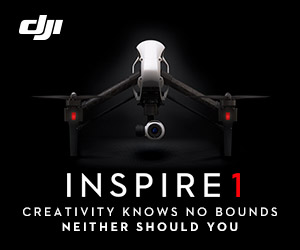 Inspire 1 - Creativity Knows No Bounds Neither Should You