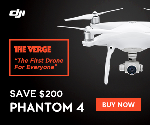 Save $200 on the DJI Phantom 4