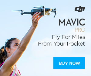 DJI Mavic Pro-Fly For Miles, From Your Pocket.