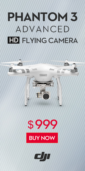 HD FLYING CAMERA - PHANTOM 3 ADVANCED