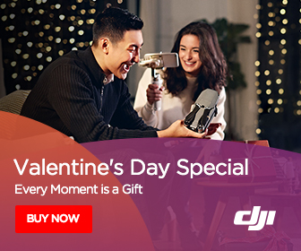 DJI Valentine's Day Special - Every Monment is a Gift.