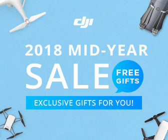 (AU,NZL)DJI 2018 Mid-Year SALE-EXCLUSIVE GIFTS FOR YOU!