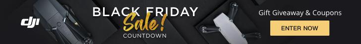 DJI Black Friday - Countdown