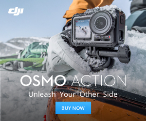 DJI Osmo Action In Stock, Unleash Your Other Side.