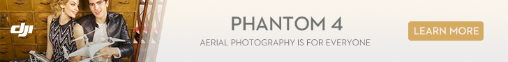 DJI Phantom 4 - Aerial Photography is for Everyone