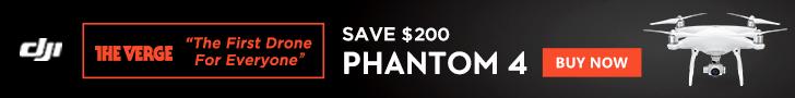 Save $200 on the DJI Phantom 4