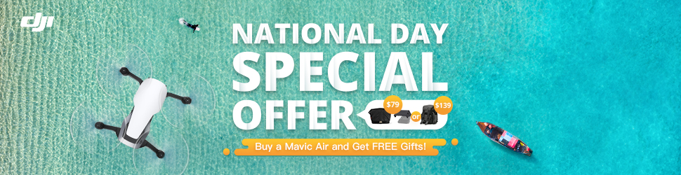 Singapore National Day - DJI Special Offer on Mavic Air