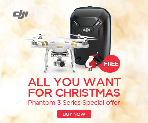 All You Want for Christmas - Phantom 3 Series Special offer