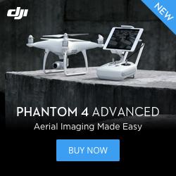 DJI Phantom 4 Advanced - Aerial Imagine Made Easy.