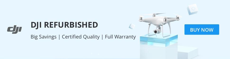 DJI Refurbished - Big Savings, Certified Quality, Full Warranty.