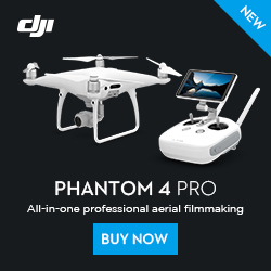 DJI Phantom 4 Pro-All-in-one Professional Aerial Filmmaking.