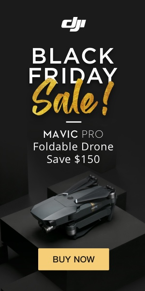 Black Friday Sale: Mavic Pro - Save $100 Thru Nov. 27