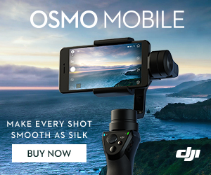 DJI OSMO MOBILE - Make Every Shot Smooth as Silk
