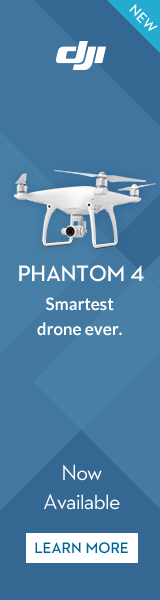 DJI Phantom 4 - Visionary Intelligence. Elevated Imagination.