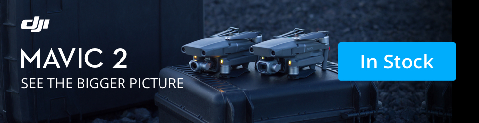 Buy the DJI Mavic 2 today! All-new camera, 8km transmission, and 31-min flight time.