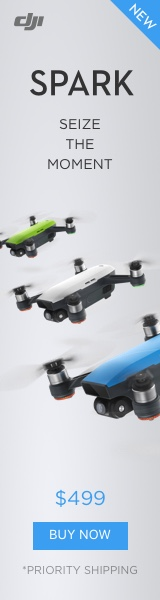 DJI Spark – Size your moment.