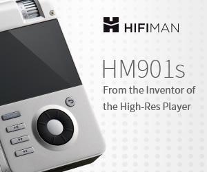 hifiman hm901s portable player