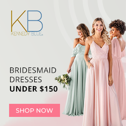 Shop Bridesmaid Dresses Under $150  at KennedyBlue.com