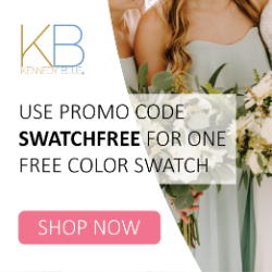 Get One FREE Color Swatch with code SWATCHFREE at KennedyBlue.com
