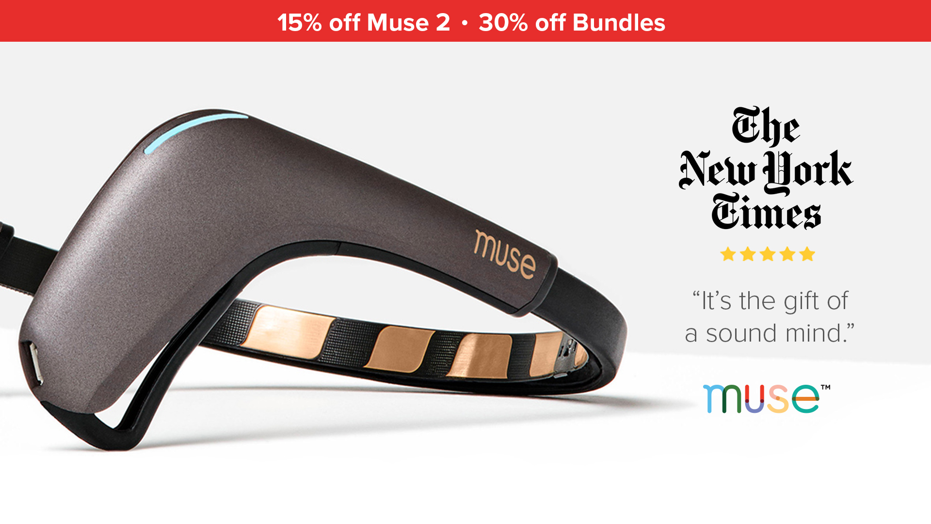 Muse: The Brain Sensing Headband — Exclusivia