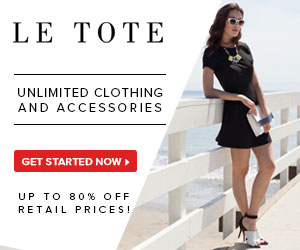 Up to 80% Off LE TOTE Coupon Codes
