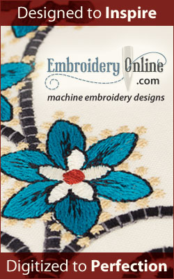 Embroidery Online - Embroidery Designs