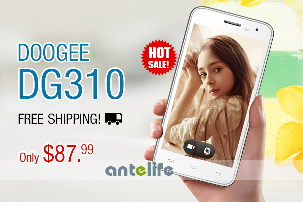 DOOGEE DG310, Only $87.99, Free Shipping! Hot Sale!
