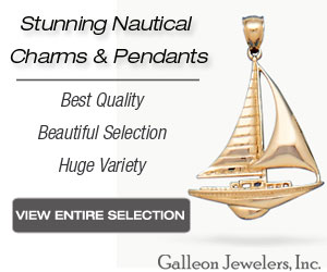 Galleon Jewelers - Charms & Pendants - Sailing