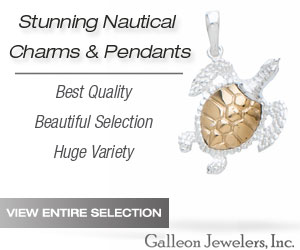 Galleon Jewelers - Charms and Pendants - Turtles